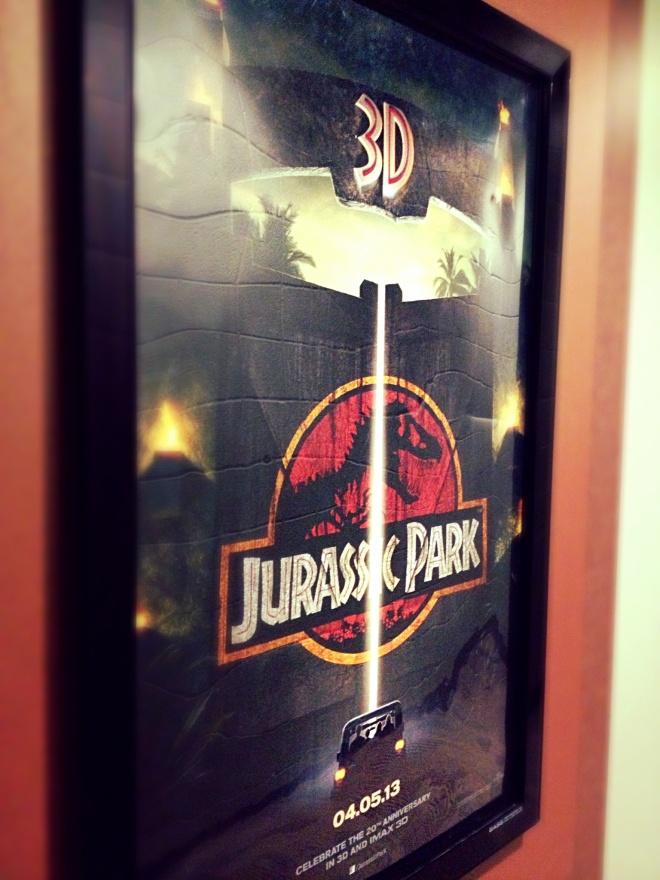 Jurassic Park 3D!